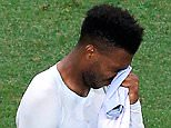 England's Daniel Sturridge looks dejected after the final whistle during the Round of 16 match at Stade de Nice, Nice, France. PRESS ASSOCIATION Photo. Picture date: Monday June 27, 2016. See PA story SOCCER England. Photo credit should read: Jonathan Brady/PA Wire. RESTRICTIONS: Use subject to restrictions. Editorial use only. Book and magazine sales permitted providing not solely devoted to any one team/player/match. No commercial use. Call +44 (0)1158 447447 for further information.