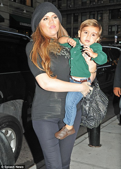 Hans on auntie: Khloe 'loves' being an aunt to two-year-old nephew Mason