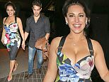 30 Jun 2016 - London - UK  Kelly Brook & Jeremy Parisi are seen here leaving Steam & Rye Night Club In London.   BYLINE MUST READ : XPOSUREPHOTOS.COM  ***UK CLIENTS - PICTURES CONTAINING CHILDREN PLEASE PIXELATE FACE PRIOR TO PUBLICATION ***  **UK CLIENTS MUST CALL PRIOR TO TV OR ONLINE USAGE PLEASE TELEPHONE   44 208 344 2007 **