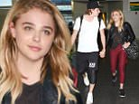 29 Jun 2016 - New York - USA  Brooklyn Beckham and Chloe Moretz arrive at JFK airport in NYC.   BYLINE MUST READ : XPOSUREPHOTOS.COM  ***UK CLIENTS - PICTURES CONTAINING CHILDREN PLEASE PIXELATE FACE PRIOR TO PUBLICATION ***  **UK CLIENTS MUST CALL PRIOR TO TV OR ONLINE USAGE PLEASE TELEPHONE  44 208 344 2007 ***