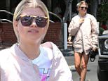eURN: AD*211510880  Headline: Sofia Richie shows some leg for lunch at Fred Segal with a friend Caption: West Hollywood, CA - Sofia Richie lets it all hangout in her short shorts while with a friend for lunch at Fred Segal in West Hollywood. Sofia shows off her cheeks and long legs in cut off short shorts, a Kiss band tee, a satin bomber jacket, and black platform sneakers as she returns to her car after lunch.   AKM-GSI  June 30, 2016 To License These Photos, Please Contact : Maria Buda (917) 242-1505 mbuda@akmgsi.com sales@akmgsi.com or  Mark Satter (317) 691-9592 msatter@akmgsi.com sales@akmgsi.com www.akmgsi.com Photographer: LESE  Loaded on 30/06/2016 at 22:40 Copyright:  Provider: AKM-GSI  Properties: RGB JPEG Image (19997K 2029K 9.9:1) 2133w x 3200h at 300 x 300 dpi  Routing: DM News : GeneralFeed (Miscellaneous) DM Showbiz : SHOWBIZ (Miscellaneous) DM Online : Online Previews (Miscellaneous), CMS Out (Miscellaneous)  Parking: