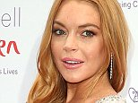 LONDON, ENGLAND - JUNE 22:  Lindsay Lohan arrives for the 2016 Butterfly Ball  at The Grosvenor House Hotel on June 22, 2016 in London, England.  (Photo by Danny Martindale/WireImage)