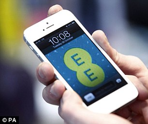 Dispute: Three has launched legal action against rival EE