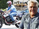 """EXCLUSIVE: **PREMIUM RATES APPLY**  Jay Leno seen riding a motorcycle only days after footage of a terrifying car crash that he was involved in was released.  The former """"Tonight Show"""" host was seen riding his motorcycle and at his garage in the San Fernando Valley.  Jay Leno was seen in blue jeans, a denim shirt and a helmet as he was seen leaving a studio in Burbank, CA.\n\nPictured: Jay Leno\nRef: SPL1310125  290616   EXCLUSIVE\nPicture by: Sharky/Polite Paparazzi /Splash\n\nSplash News and Pictures\nLos Angeles: 310-821-2666\nNew York: 212-619-2666\nLondon: 870-934-2666\nphotodesk@splashnews.com\n"""
