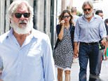 Picture Shows: Calista Flockhart, Harrison Ford  July 01, 2016\n \n Actor and producer Harrison Ford and his wife Calista Flockhart spotted on vacation in Barcelona, Spain. The two enjoyed shopping around the city with one another before grabbing a bite to eat. \n \n Non-Exclusive\n UK RIGHTS ONLY\n \n Pictures by : FameFlynet UK © 2016\n Tel : +44 (0)20 3551 5049\n Email : info@fameflynet.uk.com