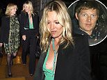 Kate moss seen out with two female companions as she dinned at Loulous private members club in London after attending the uk premiere off the Absolutely Fabulous Movie. Featuring: Kate Moss Where: London, United Kingdom When: 30 Jun 2016 Credit: WENN.com