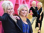 Joanna Lumley (left) and Jennifer Saunders attending the World premiere of Absolutely Fabulous The Movie held at Odeon Cinema in Leicester Square, London. PRESS ASSOCIATION Photo. Picture date: Wednesday June 29, 2016. See PA story SHOWBIZ Fabulous. Photo credit should read: Ian West/PA Wire