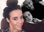 Stephanie Davis and inset with Father PUFF.jpg