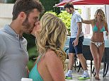 EXCLUSIVE ALL ROUNDER Michael Carrick and wife Lisa are spotted on the beach in Barbados 29 June 2016. Please byline: Chris Brandis-Tanya Boyce-Islandpaps/Vantagenews.com