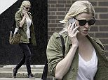 LONDON, ENGLAND - JUNE 29: (EXCLUSIVE COVERAGE) Lara Stone sighting on June 29, 2016 in London, United Kingdom. (Photo by Ray Crowder/GC Images)