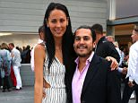 SAG HARBOR, NY - AUGUST 22:  Amy Michael and Julianne Wainstein attend the USTA Serves 2nd annual Pro-Am reception , sponsored by  Sothebys, and BMW at The Bridge Golf Club on August 22, 2013 in Sag Harbor, New York.  (Photo by Sonia Moskowitz/Getty Images)