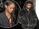 Mandatory Credit: Photo by Beretta/Sims/REX/Shutterstock (5744303d)\nDrake leaving Rihanna's hotel in Central London\nDrake out and about, London, UK - 01 Jul 2016\n