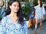 SYDNEY, AUSTRALIA - JUNE 30:  Shanina Shaik showcases designs during the Seafolly Spring 2016 Campaign Launch at North Bondi Fish on June 30, 2016 in Sydney, Australia.  (Photo by Don Arnold/WireImage)