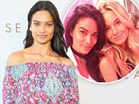 SYDNEY, AUSTRALIA - JUNE 30:  Shanina Shaik poses during the Seafolly Spring 2016 Campaign Launch at North Bondi Fish on June 30, 2016 in Sydney, Australia.  (Photo by Don Arnold/WireImage)