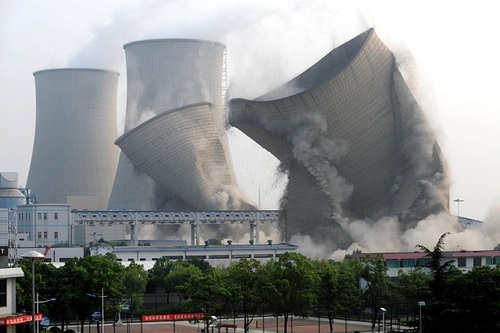 nuclear power plant demolition and decommisioning