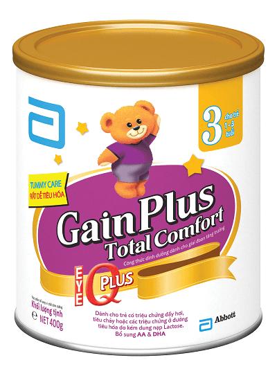 Similac Gain Plus Total comfort cho bé từ 1 đến 3 tuổi