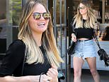 West Hollywood, CA - Chrissy Teigen leaves a salon in Weho with ombre locks perfect for summer. The 30-year-old model and mother is wearing denim cut off shorts and a crop top paired with ankle boots and a tassel bucket bag. \nAKM-GSI          July 2, 2016\nTo License These Photos, Please Contact :\nMaria Buda\n(917) 242-1505\nmbuda@akmgsi.com\nsales@akmgsi.com\nor \nMark Satter\n(317) 691-9592\nmsatter@akmgsi.com\nsales@akmgsi.com\nwww.akmgsi.com