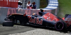 Kvyat to start from pits with new chassis