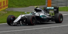 Rosberg penalised, but stays fourth
