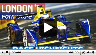 Video: London ePrix Race 1 highlights