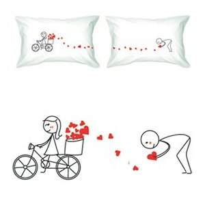 Valentines All My Love Pillowcases