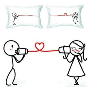 "Valentines Gifts - Bodloft ""Say I Love You Pillows"""