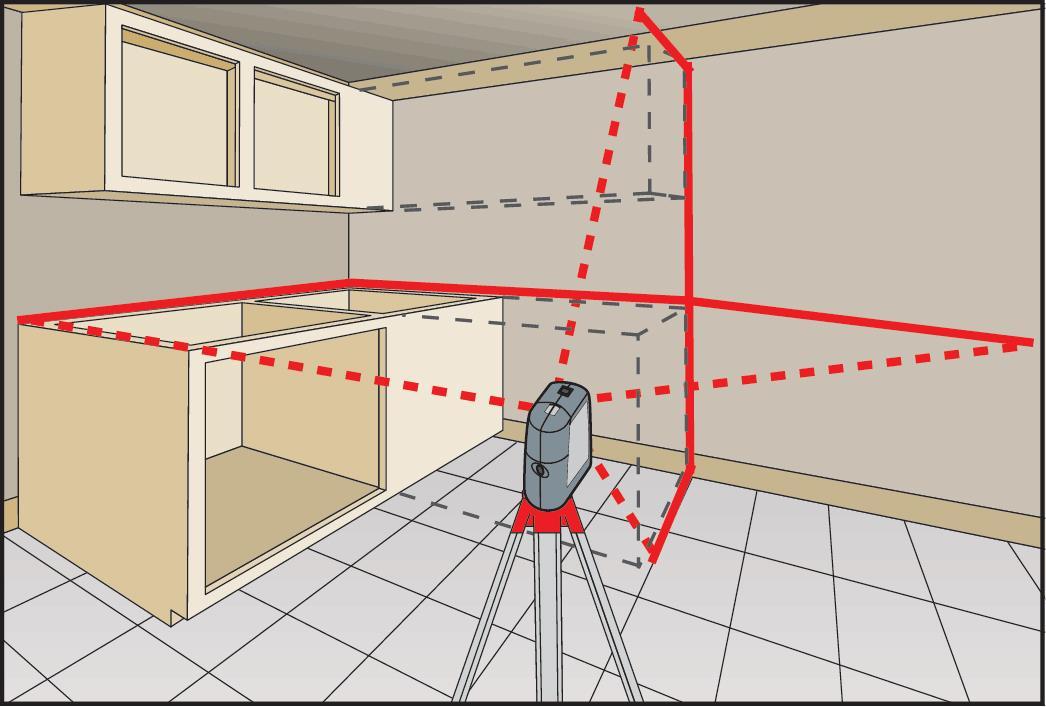 Как пользоваться лазерным нивелиром