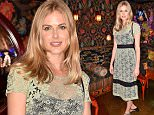 Mandatory Credit: Photo by Nick Harvey/REX/Shutterstock (5746277ax) Donna Air VieLoco Launch Party at Loulou's, London, UK - 05 Jul 2016