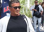 05.July.2016 - Nice - France\nHollywood hardman Sylvester Stallone jets into Nice Airport with his wife Jennifer Flavin and family.\n*** AVAILABLE FOR UK SALE ONLY ***\nBYLINE MUST READ : E-PRESS / XPOSUREPHOTOS.COM\n***UK CLIENTS - PICTURES CONTAINING CHILDREN PLEASE PIXELATE FACE PRIOR TO PUBLICATION ***\n**UK CLIENTS MUST CALL PRIOR TO TV OR ONLINE USAGE PLEASE TELEPHONE 0208 344 2007**