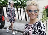 Mandatory Credit: Photo by Beretta/Sims/REX/Shutterstock (5746252g) Pixie Lott arriving at the Theatre Royal Haymarket ahead of performing in 'Breakfast At Tiffany's' Pixie Lott out and about, London, UK - 05 Jul 2016