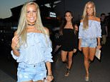July 05, 2016: July 05, 2016  Towie Cast Seen Out In The Port For Some Dinner In Magaluf  Non Exclusive Worldwide Rights Pictures by : FameFlynet UK © 2016 Tel : +44 (0)20 3551 5049 Email : info@fameflynet.uk.com