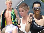 Exclusive... 52111759 Singer Justin Bieber is seen spending his downtime from his Purpose World Tour on his yacht in Miami, Florida on July 3, 2016. He wakeboarded and enjoyed the views from his yacht. After tonight's performance, Justin will be en route to Baltimore for the next leg of his world tour. ***NO USE W/O PRIOR AGREEMENT-CALL FOR PRICING*** FameFlynet, Inc - Beverly Hills, CA, USA - +1 (310) 505-9876