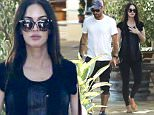 Exclusive... 52113128 Pregnant Megan Fox and Brian Austin Green have lunch at Geoffrey's Restaurant in Malibu, California, July 5, 2016. Rumors are swirling that Megan has called off the divorce to Brian as they await the birth of their third child together this summer. FameFlynet, Inc - Beverly Hills, CA, USA - +1 (310) 505-9876