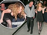 EXCLUSIVE TO INF.\nJuly 6, 2016: Mariah Carey and James Packer head to dinner in Capri, Italy.\nMandatory Credit: INFphoto.com Ref.: inf-00/ausy-12