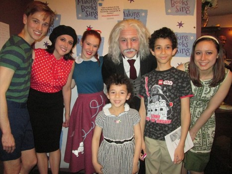 A photo opp after the show with the entire cast!
