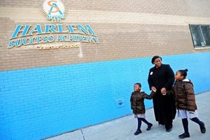 Harlem charter school beats Upper East Side Gifted School in test scores!