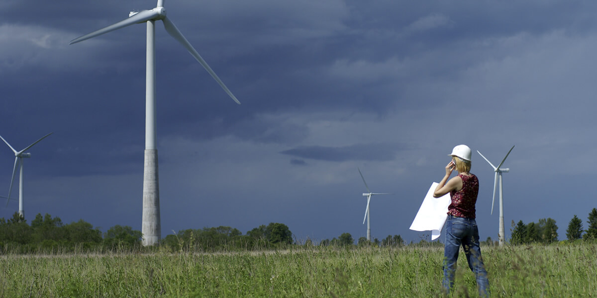 Wind turbine service technician | U.S. median hourly wage: $23.79 | U.S. total employment: 4,000 | Projected job growth to 2022: +25% | Typical training: high school or GED
