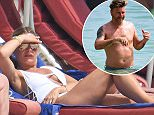 EXCLUSIVE: Robbie Savage and wife Sarah Savage spotted on the beach while on holiday in Barbados Photos taken on July 3rd 2016  Pictured: Sarah Savage Ref: SPL1307841  080716   EXCLUSIVE Picture by: Shanice King/246paps/Splash News  Splash News and Pictures Los Angeles: 310-821-2666 New York: 212-619-2666 London: 870-934-2666 photodesk@splashnews.com