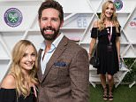 Mandatory Credit: Photo by James Gourley/REX/Shutterstock (5745805av)\nJoanne Froggatt in the evian Live Young suite, at Wimbledon 2016 #wimblewatch\nWimbledon Tennis Championships, London, UK - 07 Jul 2016\n