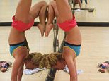 britneyspearsI love handstands!