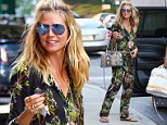 New York, NY - Family focused Heidi Klum returns home from grocery shopping with her mother and kids. The 43-year-old model is wearing a floral jumpsuit and a smile as she unpacks the car. \nAKM-GSI       July 6, 2016\nTo License These Photos, Please Contact :\nMaria Buda\n(917) 242-1505\nmbuda@akmgsi.com\nsales@akmgsi.com\nMark Satter\n(317) 691-9592\nmsatter@akmgsi.com\nsales@akmgsi.com\nwww.akmgsi.com