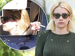 Beverly Hills, CA - Emma Roberts is seen looking at houses in the 90210 accompanied by a real estate agent. The 25-year-old actress is wearing ripped skinny jeans and an olive green knit sweater layered over a long blouse paired with Gucci loafers. \nAKM-GSI          July 6, 2016\nTo License These Photos, Please Contact :\nMaria Buda\n(917) 242-1505\nmbuda@akmgsi.com\nsales@akmgsi.com\nor \nMark Satter\n(317) 691-9592\nmsatter@akmgsi.com\nsales@akmgsi.com\nwww.akmgsi.com