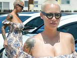 *EXCLUSIVE* Sherman Oaks, CA - Amber Rose treats herself to a day at the spa. The single mom looked fresh and dewy as she glided through the spa parking lot in a floral maxi dress, sandals, and black sunnies.\nAKM-GSI      July 7, 2016\nTo License These Photos, Please Contact :\nMaria Buda\n(917) 242-1505\nmbuda@akmgsi.com\nsales@akmgsi.com\nor\nMark Satter\n(317) 691-9592\nmsatter@akmgsi.com\nsales@akmgsi.com\nwww.akmgsi.com