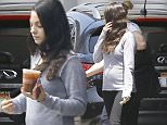 Exclusive... 52113810 Pregnant Mila Kunis took her tiny baby bump to grab a cold beverage in Century City, California on July 6, 2016. She was wearing a grey sweater with black leggings. FameFlynet, Inc - Beverly Hills, CA, USA - +1 (310) 505-9876