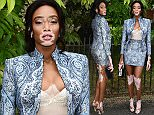 Winnie Harlow attending the Serpentine Gallery Summer Party, at Hyde Park in London. PRESS ASSOCIATION Photo. Picture date: Wednesday 6th July, 2016. Photo credit should read: Ian West/PA Wire