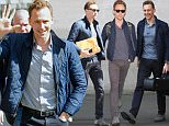 LONDON, ENGLAND - MAY 06:  Tom Hiddleston seen at BBC Radio One on May 06, 2016 in London, England.  (Photo by Neil Mockford/Alex Huckle/GC Images)