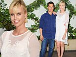 """LOS ANGELES, CA - JULY 08:  Actor Matthew McConaughey and actress Charlize Theron pose at the photo call For Focus Features' """"Kubo And The Two Strings"""" at Four Seasons Hotel Los Angeles at Beverly Hills on July 8, 2016 in Los Angeles, California.  (Photo by Jon Kopaloff/FilmMagic)"""