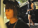 EXCLUSIVE Jaden Smith is seen arriving back at his London hotel with a mystery brunette following a night out at Sketch nightclub 8 July 2016. Please byline: Vantagenews.com