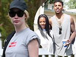 EXCLUSIVE: Iggy Azalea arrives at a private house in Los Angeles with her luggage after her trip to Australia.\n\nPictured: Iggy Azalea\nRef: SPL1309891  070716   EXCLUSIVE\nPicture by: Clint Brewer / Splash News\n\nSplash News and Pictures\nLos Angeles: 310-821-2666\nNew York: 212-619-2666\nLondon: 870-934-2666\nphotodesk@splashnews.com\n