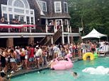Hedge funder Brett Barna threw a wild ?Wolf of Wall Street?-style Hamptons party ? awash with Champagne, scores of bikini-clad women and costumed gun-toting midgets ? and allegedly trashed a $20 million mansion.   Barna, a portfolio manager at Louis Bacon?s Moore Capital Management, hosted the all-day ?#Sprayathon? pool party on Sunday, where 1,000 people doused themselves in bubbly as rapper Ace Hood performed.  Now the furious owner of the 14-bedroom estate in Bridgehampton plans to sue Barna, 31, for $1 million, saying the Wall Street hot shot had claimed the party would be a fundraiser for an animal charity for a mere 50 guests. Plus, Barna is disputing the $27,000 Airbnb rental and is refusing to pay.